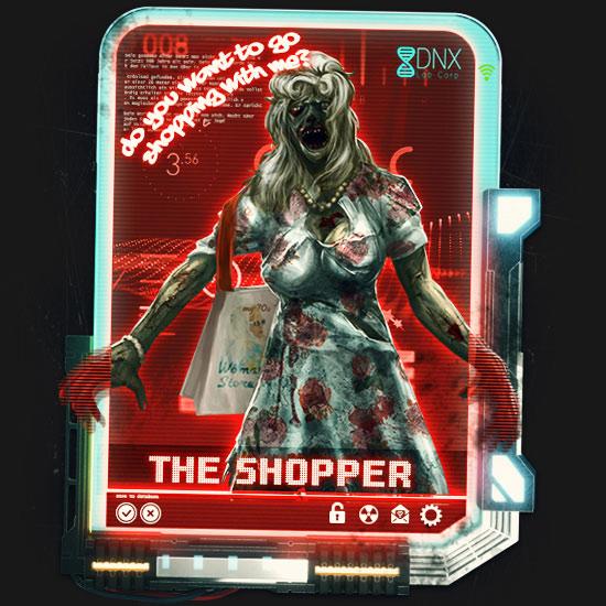 Die Shopperin in DoW