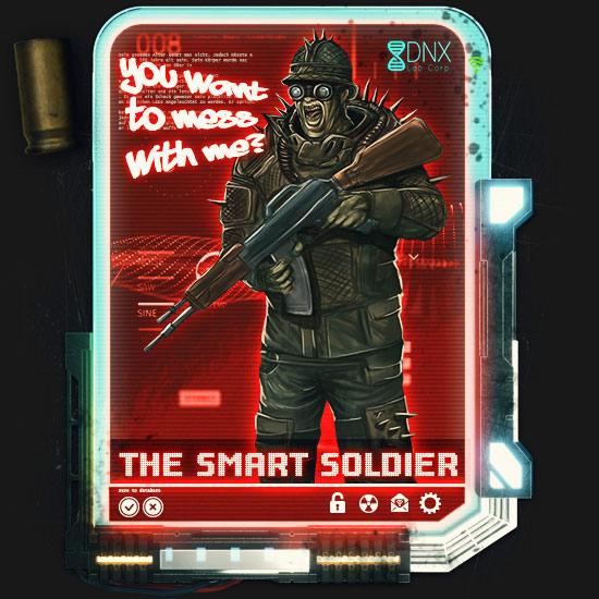 Der Soldat im Zombie Survival Brettspiel