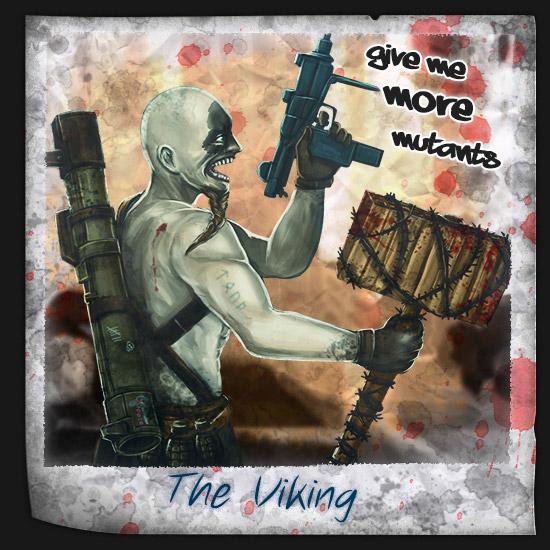 Der Wikinger im Zombie Survival Brettspiel